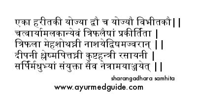 Triphala Choorna