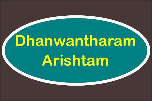 Dhanwantharam Arishtam