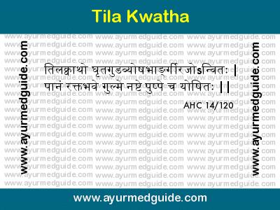 tila-kwatha