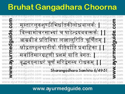Brihat Gangadhara Churna