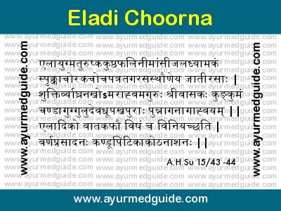 Eladi Choorna