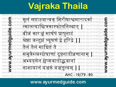 Vajraka Thaila