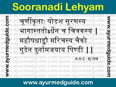 Sooranadi Lehyam