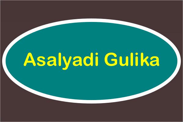 Asalyadi Gulika