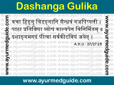 Dashanga Gulika